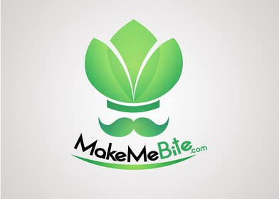 Nro 3 kilpailuun Design a Logo for Makemebite.com käyttäjältä kukubeso