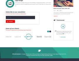 Nro 15 kilpailuun Design a Website Mockup for Graphics website käyttäjältä zaxsol