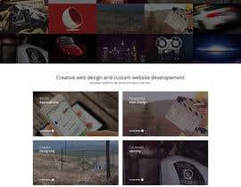 Nro 38 kilpailuun Design a Website Mockup for Graphics website käyttäjältä Pavithranmm