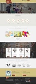 Nro 6 kilpailuun Design a Website Mockup for Graphics website käyttäjältä ankisethiya