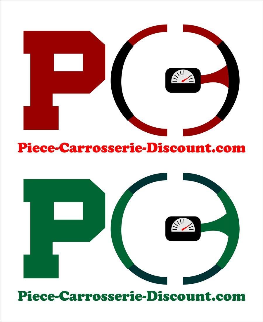 Contest Entry #                                        32                                      for                                         Logo Piece-carrosserie-discount.com