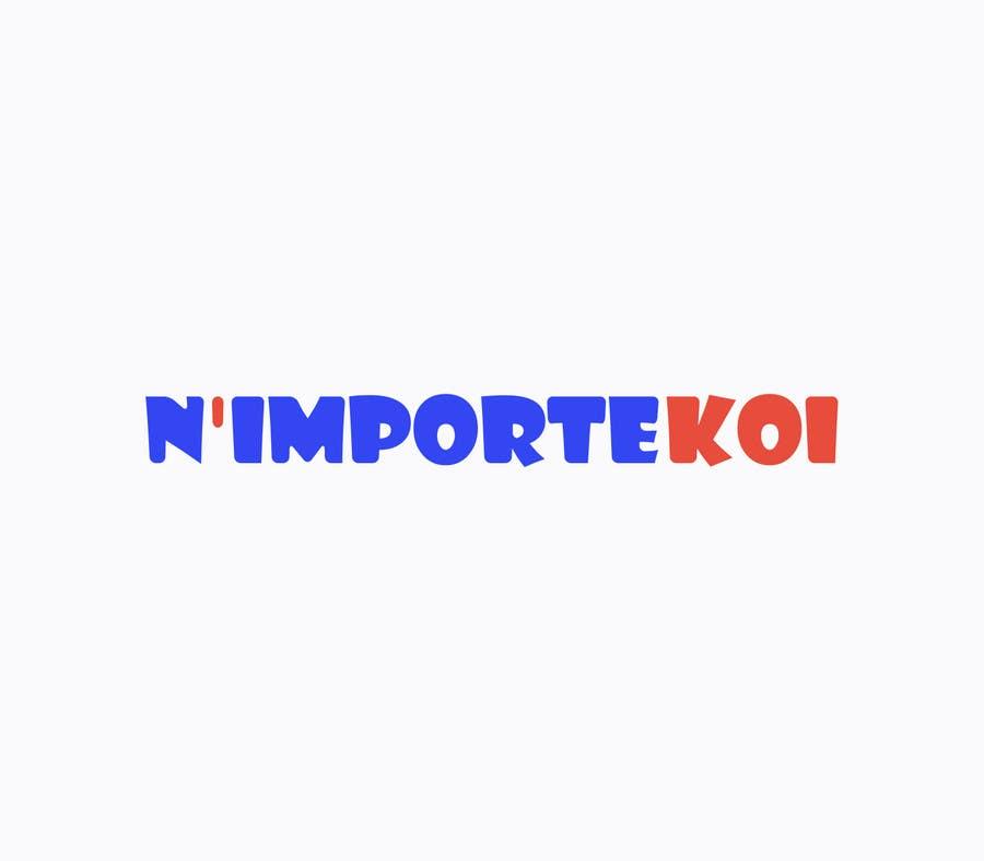 Kilpailutyö #18 kilpailussa Concevez un logo for N'importeKoi.com