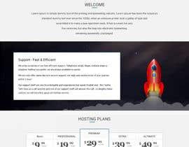 #6 for Design a Website Mockup for boutique IT/hosting provider by amitpokhriyalchd