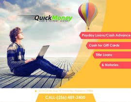 #5 for Design a Flyer for QuickMoney by ethancoder1