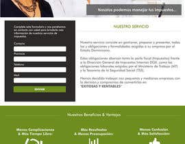 Nro 12 kilpailuun Hacer un boceto para un diseño web para Impuestofacil käyttäjältä steffanytj