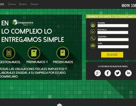 Nro 10 kilpailuun Hacer un boceto para un diseño web para Impuestofacil käyttäjältä jenriquecarreon