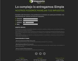 #14 cho Hacer un boceto para un diseño web para Impuestofacil bởi carlaschartner