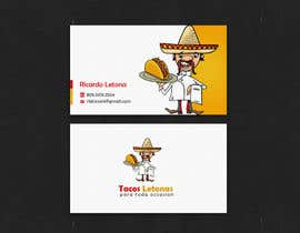 #35 for Design some Business Cards for a taco business af einsanimation