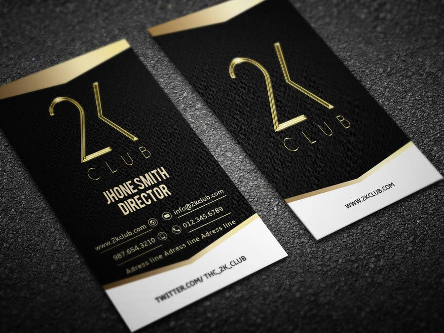 Entry #3 by Fgny85 for Design some Business Cards for a social club ...