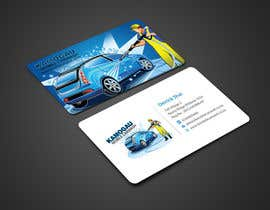 #5 cho Design a letterhead and business card for a car wash. bởi einsanimation