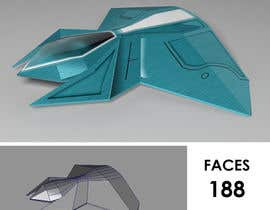 Nro 9 kilpailuun 3D Modelling for Tron-like racing spaceship käyttäjältä dhayaldhaya