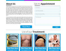 #18 cho Design a Website Mockup for a surgeon bởi suranjan89