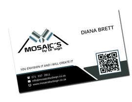 #7 for Design a letterhead and business card for a Mosaic Company af newstartcreative