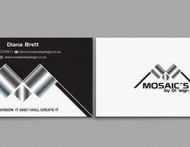 #4 for Design a letterhead and business card for a Mosaic Company af einsanimation