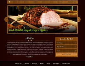 #3 for Design a Website Mockup for Hog Roast Company af Hardiq108