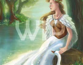 #11 for Fantasy art contest: Cygnisia the Swan-maiden af Aisbeth