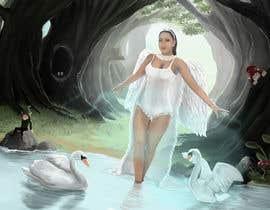 #22 for Fantasy art contest: Cygnisia the Swan-maiden af simon055