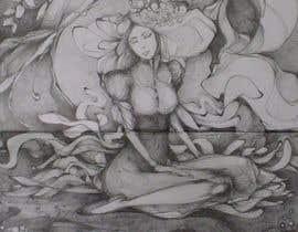 #21 for Fantasy art contest: Cygnisia the Swan-maiden af stefania123