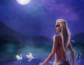 #32 for Fantasy art contest: Cygnisia the Swan-maiden af elsbro