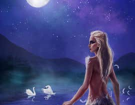 #34 for Fantasy art contest: Cygnisia the Swan-maiden af elsbro