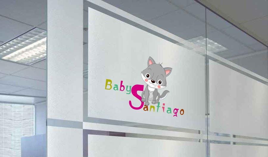 Kilpailutyö #5 kilpailussa Design a Cute Wolf Logo for Children's Clothing Store