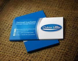 #5 untuk Logo and Business Card for Delicias Milas oleh georgeecstazy