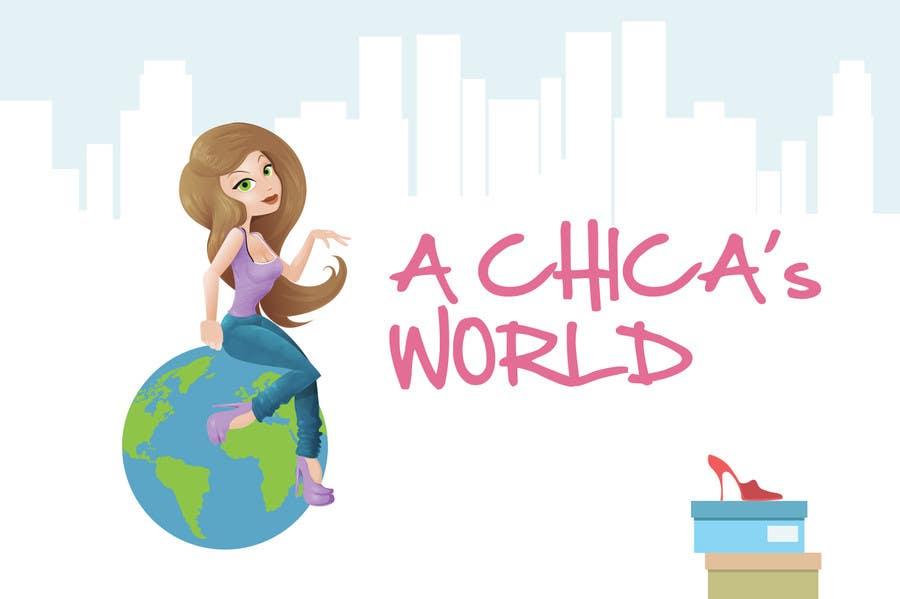 Bài tham dự cuộc thi #61 cho Design a Logo for A Chica's World
