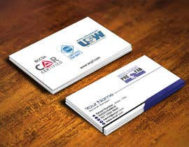 #27 untuk Design a Business Card Template for WCPF oleh IllusionG