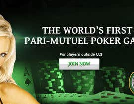 #18 for Design a Website Mockup page that will be used as a page to recruit players to an online poker site by glad121