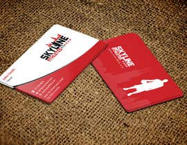 #20 untuk Design some Business Cards and Letter Head for Skyline Athletes LLC oleh einsanimation