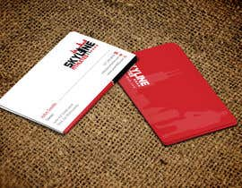 #23 untuk Design some Business Cards and Letter Head for Skyline Athletes LLC oleh einsanimation