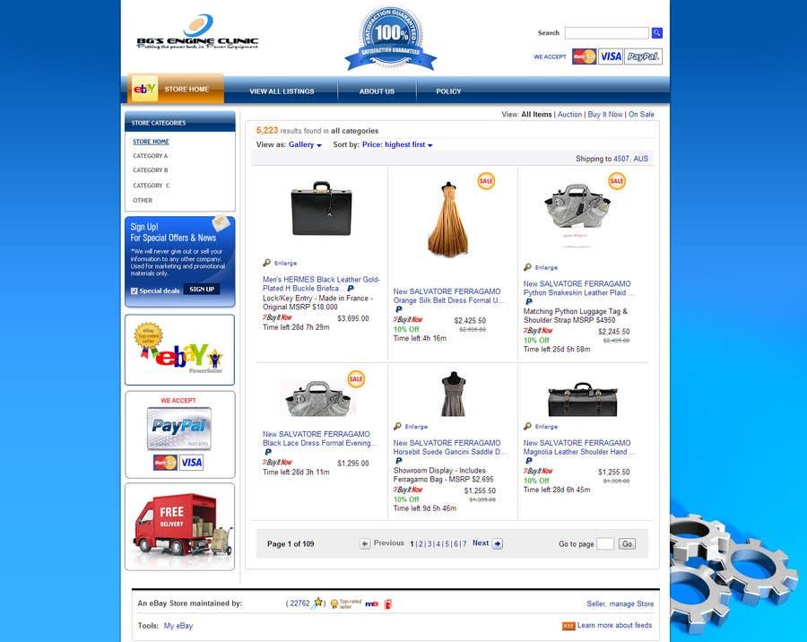 Inscrição nº                                         10                                      do Concurso para                                         Design an ebay Template for our eBay store & listings (Themed to our business)