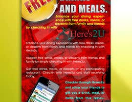 #4 para Design a In-store Restaurant Flyer for Mobile App. por shuvrapan