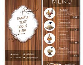 #15 for Create an ice cream parlor menu by shahzeenahmed6