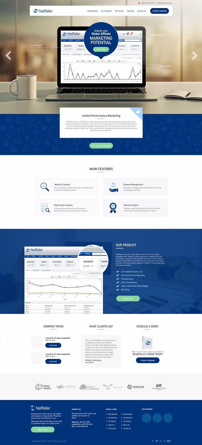 Entry 43 By Bilekzd For Creative Website Design Mockup Freelancer