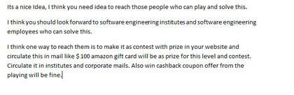 #10 untuk Best idea to market a code cracking website oleh kctcmadanpur