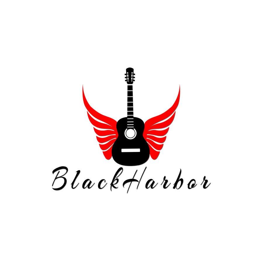 Konkurrenceindlæg #11 for Design a Logo for a Guitar Strings company called Black Harbor.