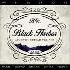 Graphic Design Konkurrenceindlæg #133 for Design a Logo for a Guitar Strings company called Black Harbor.