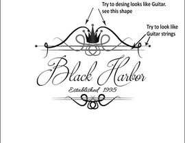 designcarry tarafından Design a Logo for a Guitar Strings company called Black Harbor. için no 134
