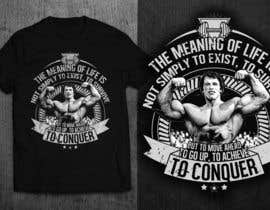 GautamHP tarafından Design a T-Shirt for a gym community (bodybuilding) için no 30