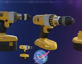 #14 cho NASA Challenge: Develop 3D Models for Robonaut Simulation-Drill with and without Battery bởi gevorgchepchyan