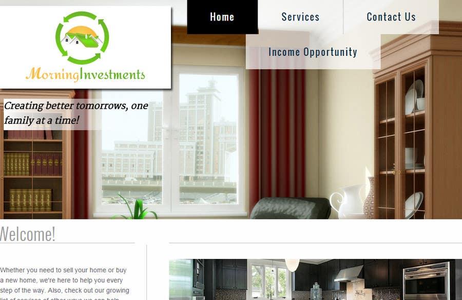 Bài tham dự cuộc thi #18 cho Design a Logo for my Real Estate Investment company