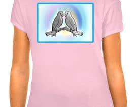 #18 untuk Lovebird Design for White and Pink Women's T-Shirts oleh hedayetmdansari