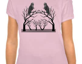 #19 cho Lovebird Design for White and Pink Women's T-Shirts bởi hedayetmdansari