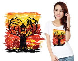 #22 cho Lovebird Design for White and Pink Women's T-Shirts bởi AWAIS0