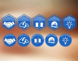 #4 for Design von Piktogrammen/logos af MouadEl3