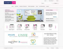 arperado tarafından Design a Website Mockup for www.wonderfullweb.nl için no 40