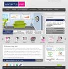 Graphic Design Entri Peraduan #22 for Design a Website Mockup for www.wonderfullweb.nl