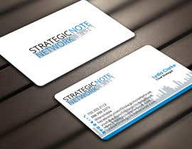 Derard tarafından Design Contemporary, Modern Business Cards for Strategic Note Network için no 25