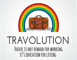 #1 for Design a Logo for my Brand TRAVOLUTION -- 2 af annievisualart